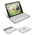Thin Aluminum Bluetooth Wireless KeyBoard Case For iPad2 3rd Generation US