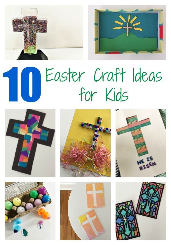10 Easter Craft Ideas For Kids Crafting For Kids Car Pinterest