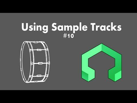 LMMS Tutorial 10: Sample Tracks - YouTube