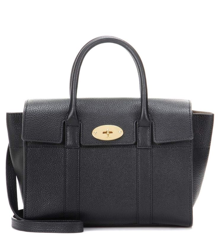 mytheresa.com - Bayswater Small leather tote - Luxury Fashion for Women / Designer clothing, shoes, bags