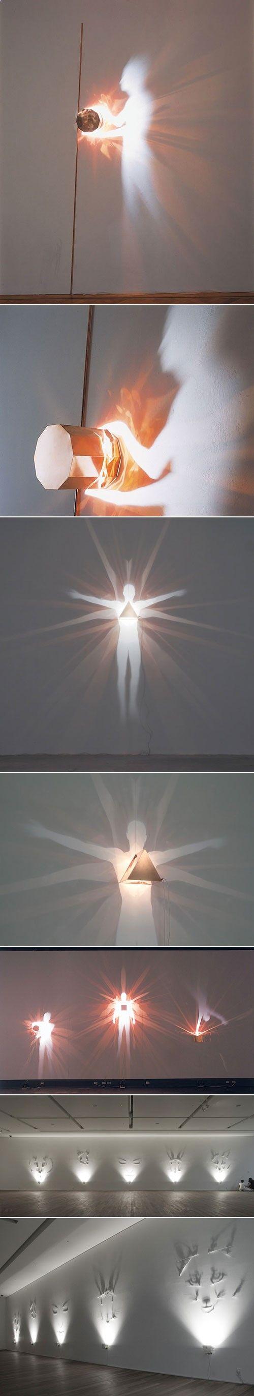 Incredible shadow art by Fabrizio Corneli.