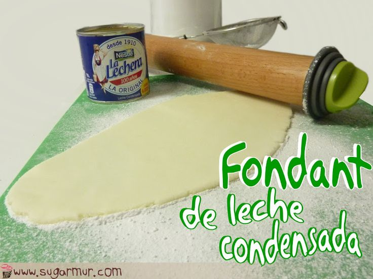 Fondant de leche condensada | Sugar Mur