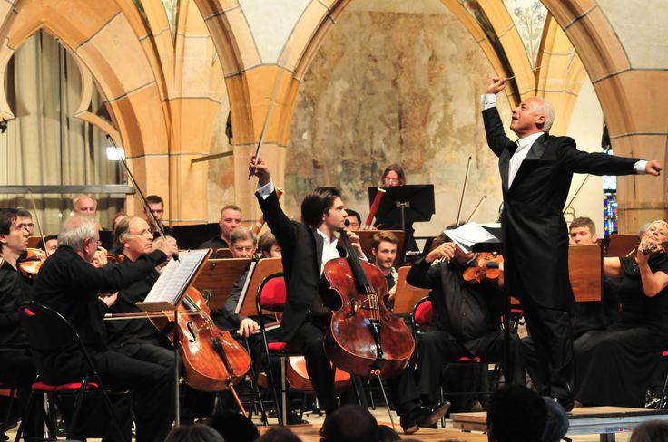 Gauthier, le plus jeune des frères Capuçon, au violoncelle - Le Festival international de Colmar (www.festival-colmar.com) - B. Fruhinsholz