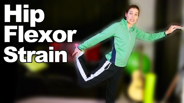 Hip Flexor Strain Stretches & Exercises - Doctor Jo shows you some simple Hip Flexor exercises and stretches if you have a strain or pain in your hip flexors. To see more videos, visit http://www.askdoctorjo.com