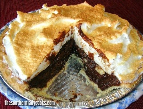 My family loves this chocolate pie and we can eat a whole one in no time at all. I should probably make 2 when I make this pie, because they never
