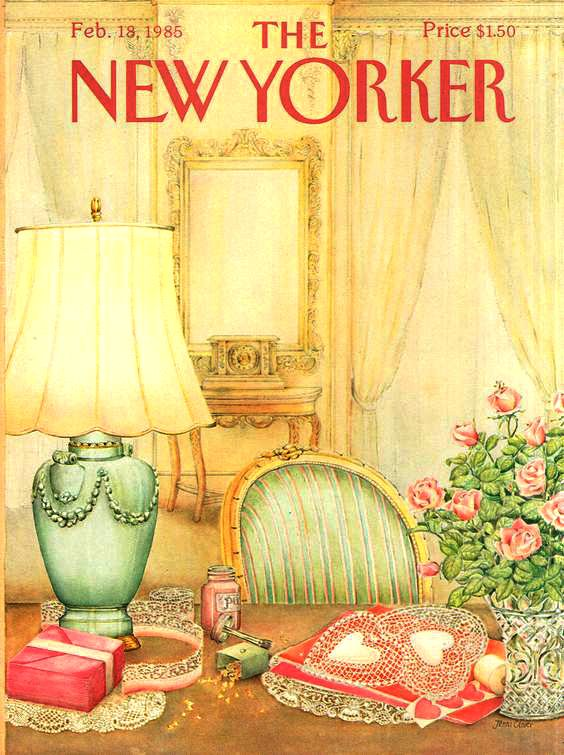 The New Yorker - Monday, February 18, 1985 - Issue # 3131 - Vol. 60 - N° 53 - Cover by : Jenni Oliver