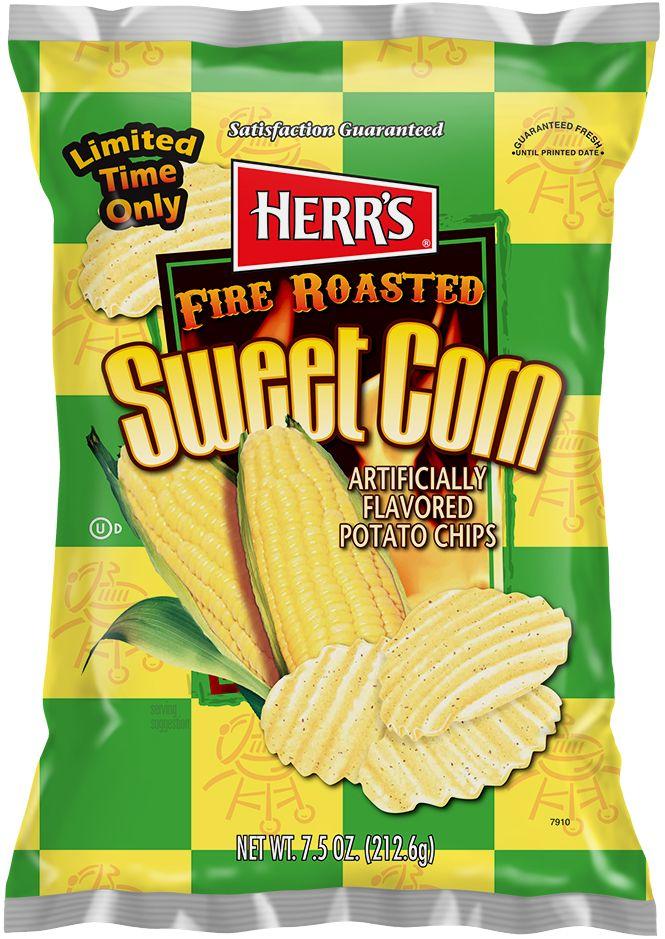 HERR'S® FIRE ROASTED SWEET CORN POTATO CHIPS