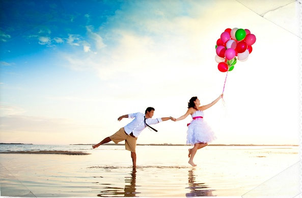 cute couple with #balloons