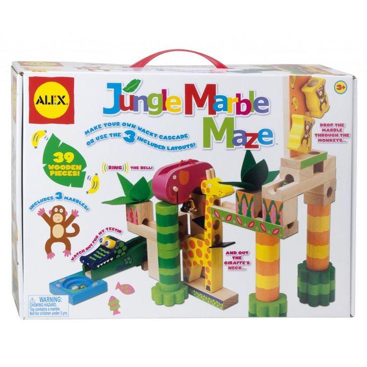 Alex Jungle mable maze. Spécial à 46.99$ (rég. 78.99) Achetez-le: info@laboiteasurprisesdenicolas.ca