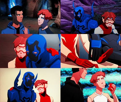 Season 2: Impulse/Bart Allen: Blue Beetle/Jamie Reyes-Best Friends