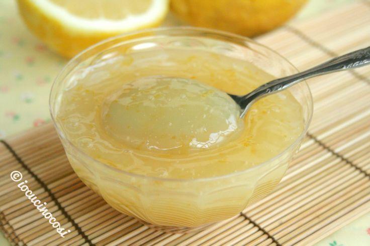 Crema al limone delicata - senza burro latte e uova