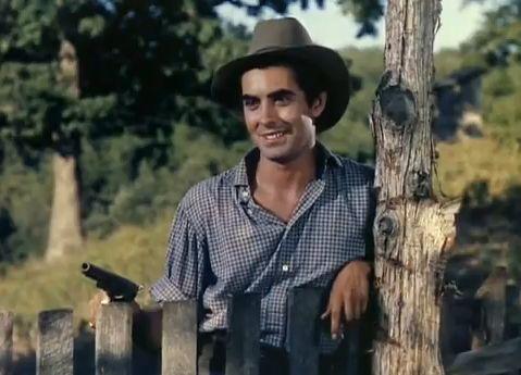 Tyrone Power as Jesse James, 1939