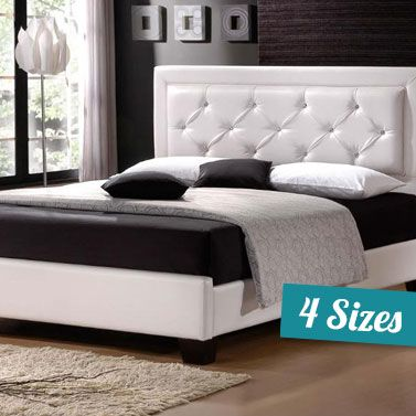 best 25+ leather bed frame ideas on pinterest | fluffy bed, queen