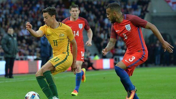 England and Southampton Full Back Ryan Bertrand Suffers Knock in Training