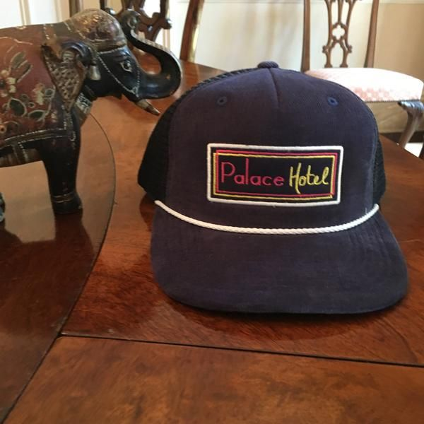 "This corduroy front trucker hat from Shep Rose of Bravo TV's ""Southern Charm"" is available as a limited run, and will sell out very fast!"