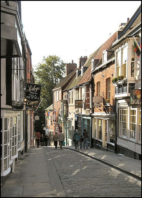 Steep Hill, Lincoln, England