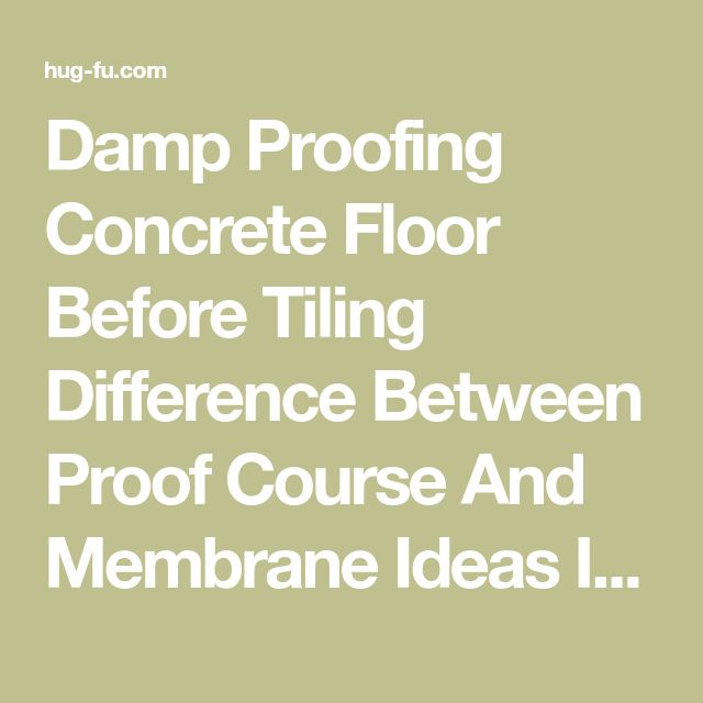 Best 25 damp proofing ideas on pinterest brick rendering wet damp proofing concrete floor before tiling difference between proof course and membrane ideas installing dpc in new build stock photo waterproofing solutioingenieria Images