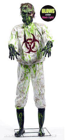 biohazard zombie lab monster prop 150 - Zombie Props