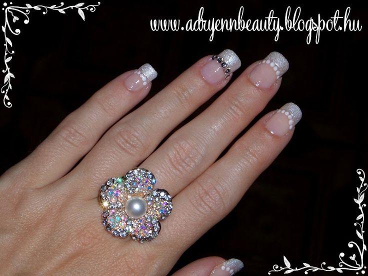 Adryenn Beauty: Menyasszonyi köröm
