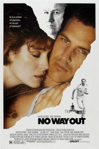 NO WAY OUT movie poster KEVIN COSTNER drama romance GENE HACKMAN 24X36 hot