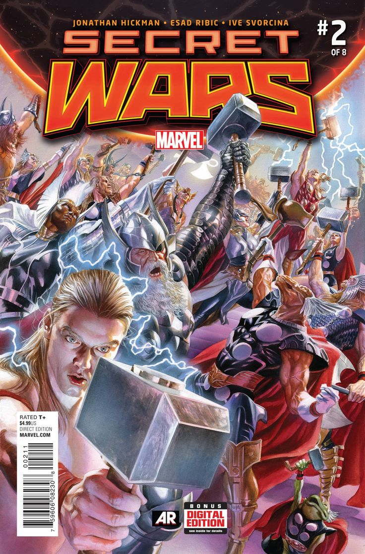 SECRET WARS #2 (OF 8)