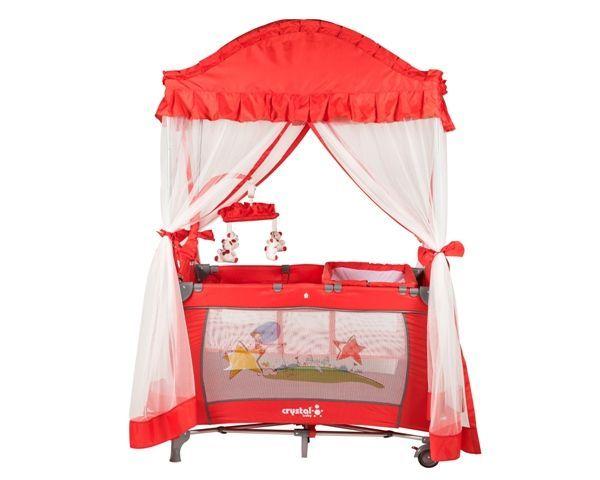 Crystal Baby 407 Cenova Oyun Parkı Kırmızı #bebek #alışveriş #indirim #trendylodi #bebekodası #mobilya #dekorasyon #evdekorasyon #anne #baba