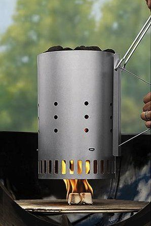 Amazon.com : Chimney Starter Charcoal Weber Rapidfire Bbq Grill Barbecue Durable Outdoor Patio Grills Portable Best Char Bbqs For Sale On Pits Smoker Accessory Lighter Camping Lights Quickly Stove Tool Handle : Patio, Lawn & Garden