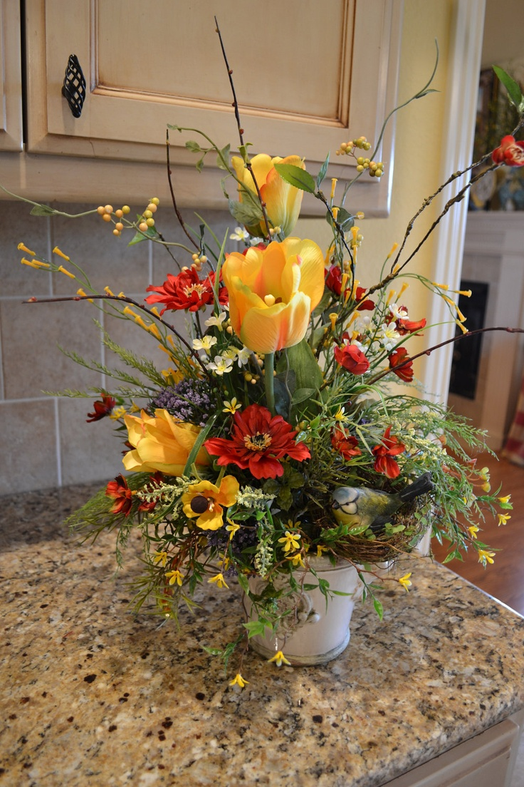 100 best floral arrangementsall seasons images on pinterest there are so many ways on tulip arrangement now we will show you nice tips about tulip arrangement ideas that you can do it by yourself one kind of flower dhlflorist Image collections
