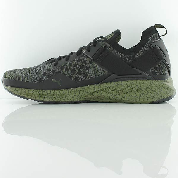 puma IGNITE evoKNIT Lo Hypernature Puma Black QUIET SHADE