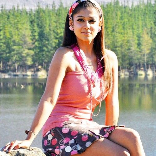 nayanthara with sassy hair band