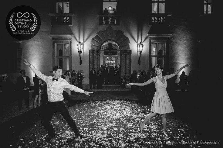 wedding firs dance lake como