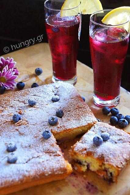 Kitchen Stori.es: Κέικ με Μπλούμπερις