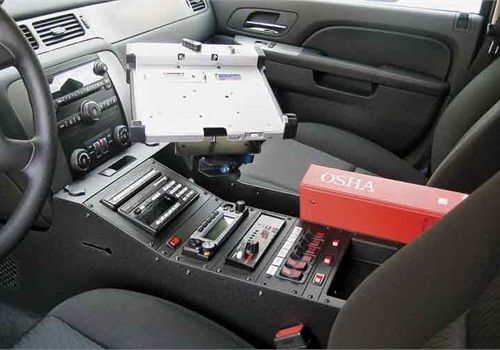 Chevy Tahoe Wide-Body Console - POLICE Magazine