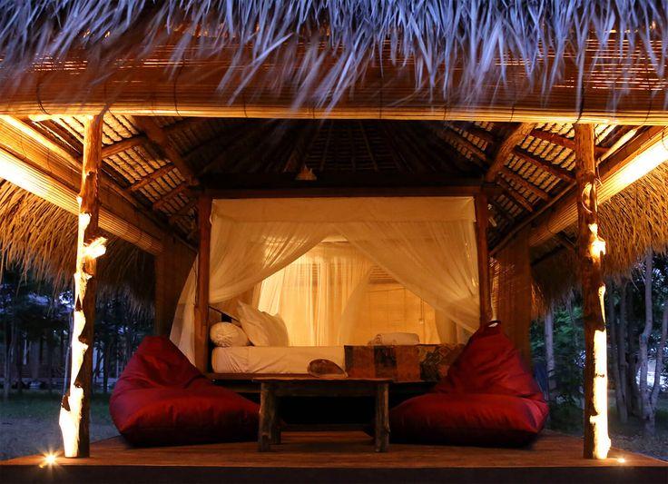 Gili Asahan Eco Lodge & Restaurant Lombok Accommodation Hotel Indonesia Holidays