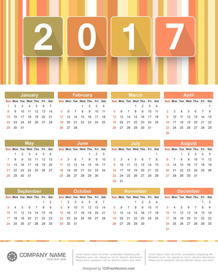 72 best 2017 calendar images on pinterest filing commercial and 2017 calendar template pronofoot35fo Choice Image