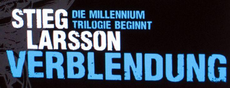 Verblendung | #millenium #trilogie #verblendung #stieglarsson