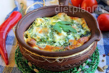 Запеканка из брокколи – диетический завтрак | Диетические низкокалорийные рецепты - блюда правильного питания на Dietplan.ru
