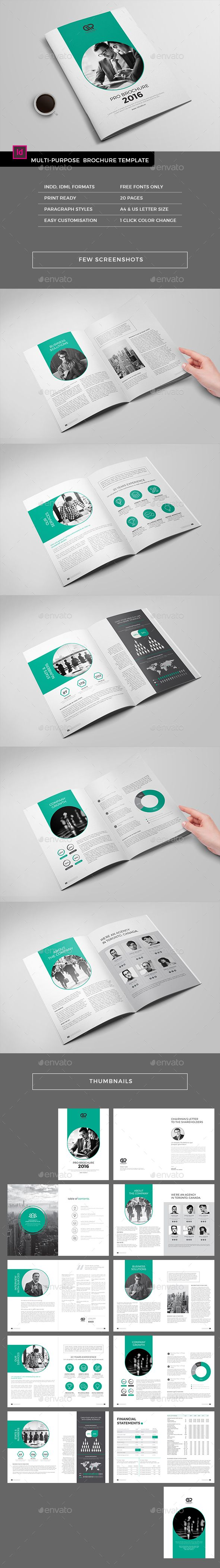 The Corporate Brochure Template InDesign INDD. Download here: http://graphicriver.net/item/the-corporate-brochure/16067146?ref=ksioks