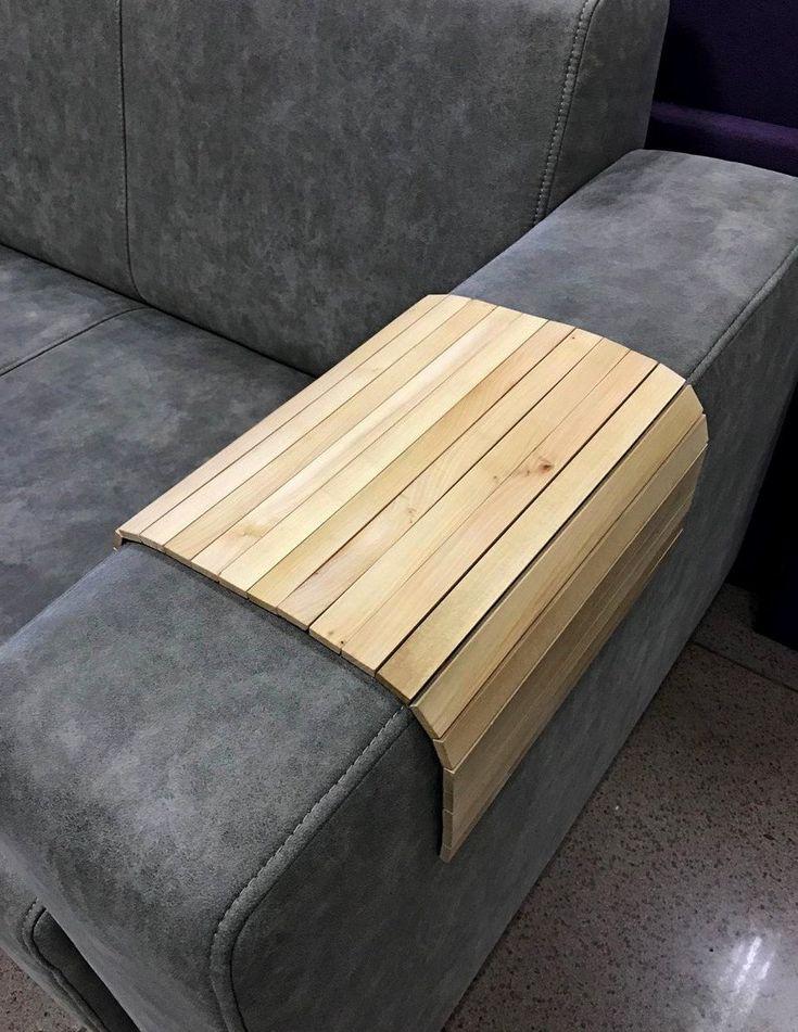 Sofa Tray Table Sofa Arm Tray Armrest Tray Sofa Arm Table Etsy Sofa Arm Table Couch Tray Tray Table