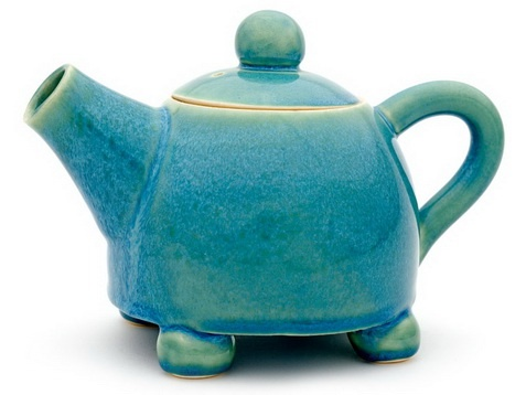 Very cute small teapot by We Make Pots! only £40 and sent to you directly from the artists!