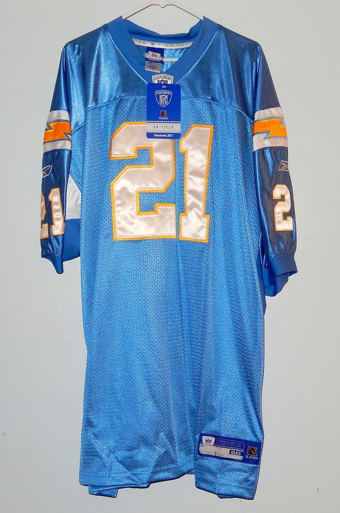 6b72601cf Jersey Sale Authentic NFL Reebok 21 LaDainian Tomlinson San Diego Chargers  On Field ...