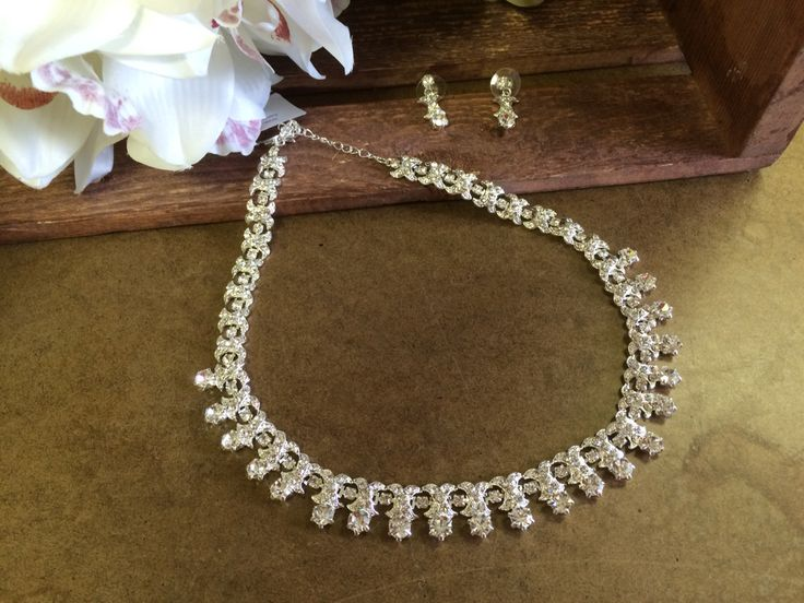 Necklace #bridal #bling #wedding #prom