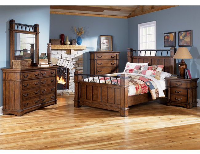 Picture of Bedroom: Extravagant Rustic Bedroom Ideas Wooden Floor Design, Low Sofa, Bricks Gable, Fabric Beach Swing ~ Peerflix