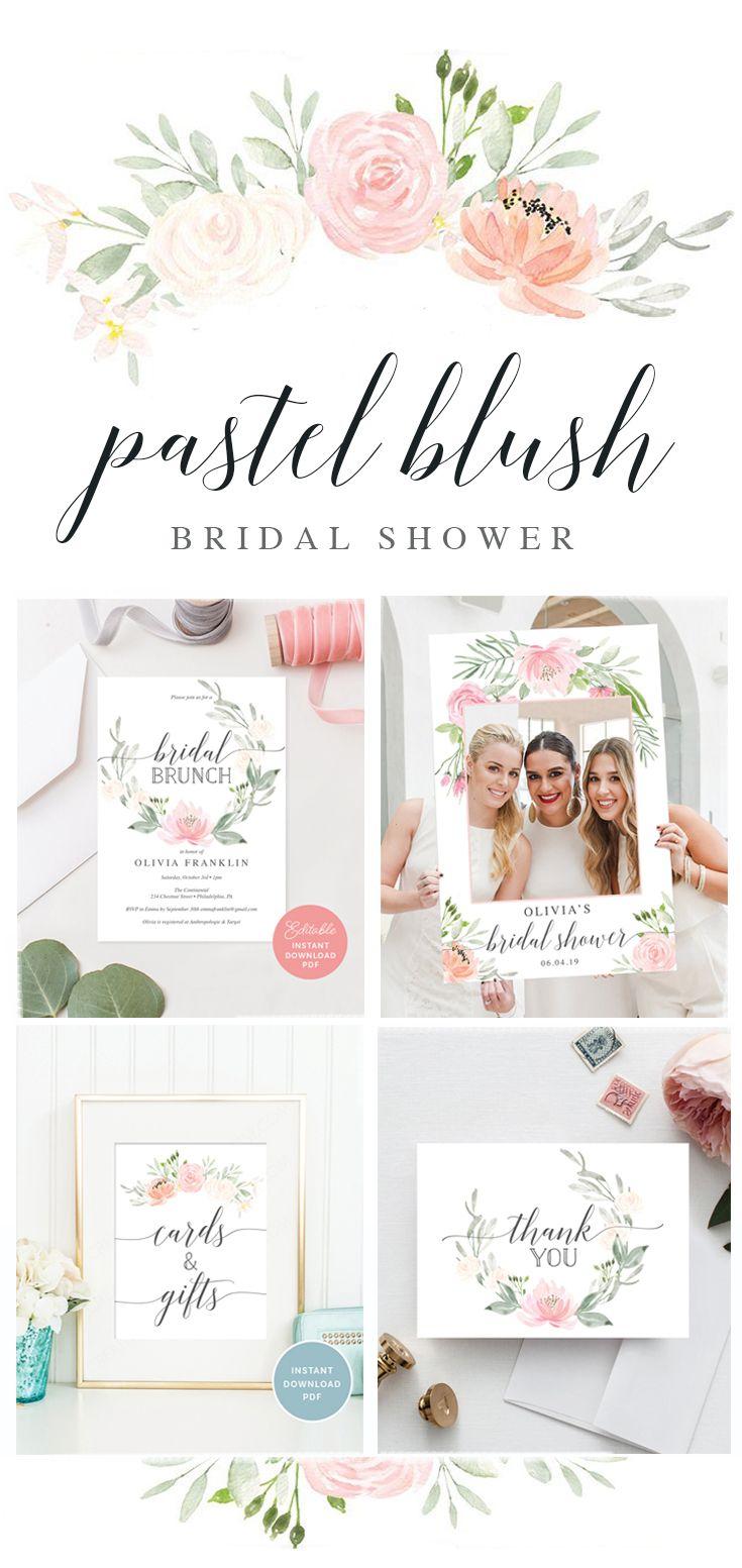 c29125e7431 Pastel Blush Bridal Shower