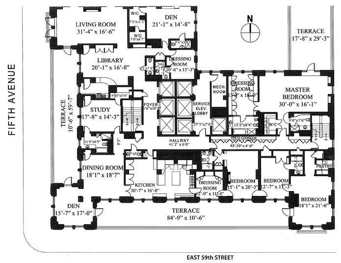 43 best Flats images on Pinterest | Apartment floor plans ...