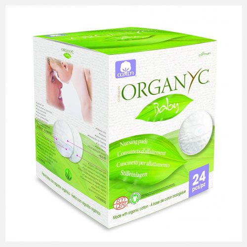 Organyc | Baby Cotton Nursing Pads at little green footprints