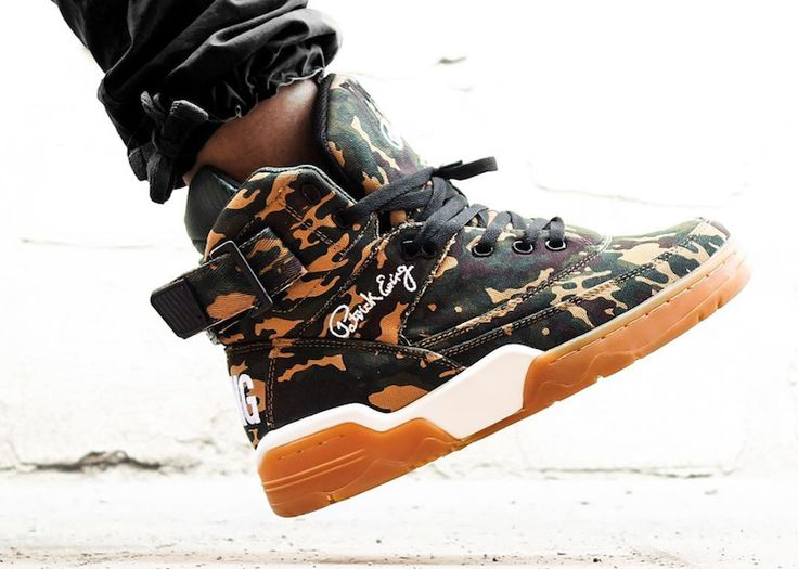 The Ewing 33 Hi in Camo/Gum will release on September 23rd for $120.
