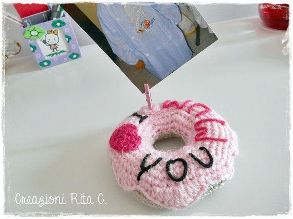 Ciambella Donut Portafoto per la Festa della Mamma
