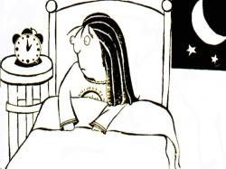 Delayed Sleep Phase Syndrome Cartoon