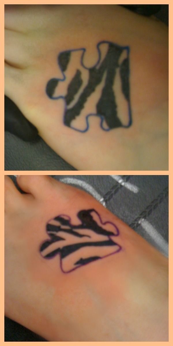 best friend tattoo...we can get puzzle pieces that fit together!!! @Sam Catherine @Nicole Estelle @Nikki Mak